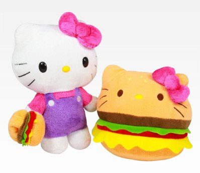 "Cheeseburger ""Hello Kittys!"" - BY JOHNRIEBER"